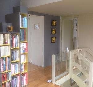 création du plancher mezzanine et meuble escalier