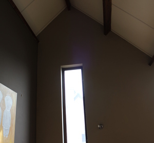 AVANT TRAVAUX   espace 5M sous plafond