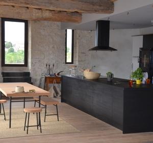 espace cuisine après travaux
