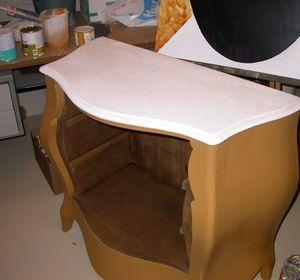 Essentiel Sprl - Création d'un meuble en bois et marbre